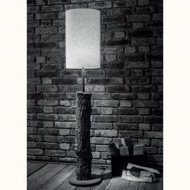 Lampadar design scoarta de copac din aluminiu turnat SL 112