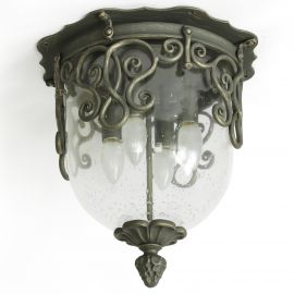 Lustre, Candelabre Fier Forjat - Plafoniera impresionanta din fier forjat DE 2246