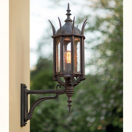 Aplice Exterior Fier Forjat - Aplica iluminat exterior din fier forjat WL 3667