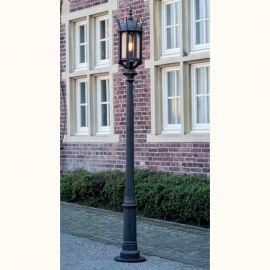 Stalpi Fier Forjat - Stalp iluminat exterior din fier forjat, inaltime 269cm AL 6868