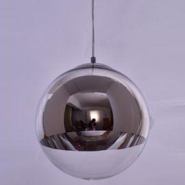 Pendule, Lustre suspendate - Pendul modern SE3130-1-CH ALESSIA CHROME-CLEAR Ø30