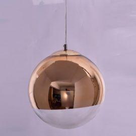 Pendule, Lustre suspendate - Pendul modern SE3130-1-GO ALESSIA GOLD-CLEAR Ø30