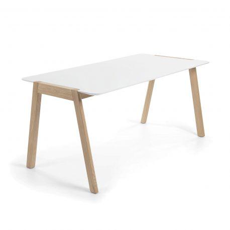 Mese dining - Masa design nordic KALE, 140x80