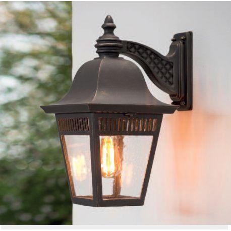 Aplice Exterior Fier Forjat - Aplica iluminat exterior din fier forjat, WL 3641