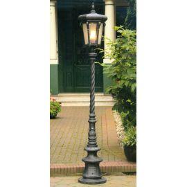 Stalpi Fier Forjat - Stalp iluminat exterior din fier forjat, inaltime 217cm, AL 6783