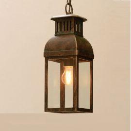 Lustre Exterior Fier Forjat - Pendul iluminat exterior din fier forjat, HL 2584