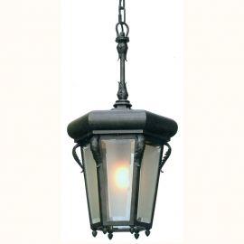 Lustre Exterior Fier Forjat - Pendul iluminat exterior din fier forjat, HL 2580