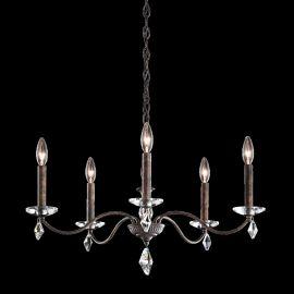Lustre Cristal Schonbek - Candelabru 5 brate design LUX cu cristale Heritage, Modique MD1005