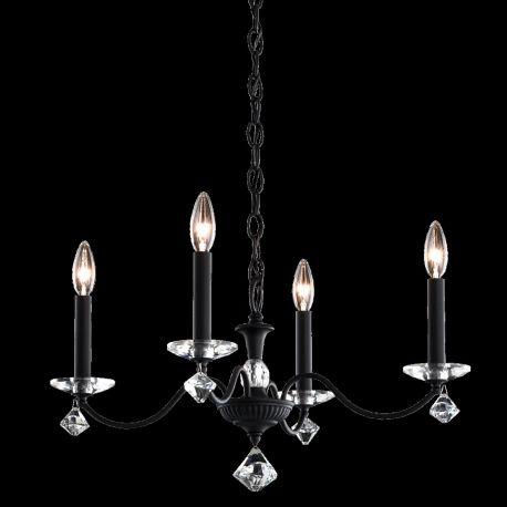 Lustre Cristal Schonbek - Candelabru 4 brate design LUX cu cristale Swarovski, Modique MD1004