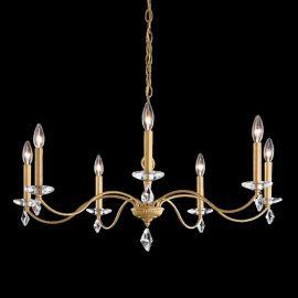Lustre Cristal Schonbek - Candelabru 7 brate design LUX cu cristale Heritage, Modique MD1007
