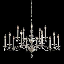 Lustre Cristal Schonbek - Candelabru 15 brate design LUX cu cristale Heritage, Modique MD1015