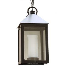 Lustre Exterior Fier Forjat - Pendul iluminat exterior din fier forjat, HL 2491-A