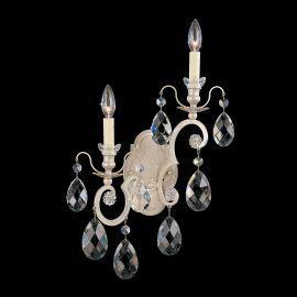 Aplice Cristal Schonbek - Aplica LUX stil baroc cu cristale Heritage, Renaissance 3758 Left