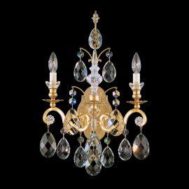 Aplice Cristal Schonbek - Aplica LUX stil baroc cu cristale Heritage, Renaissance 3761