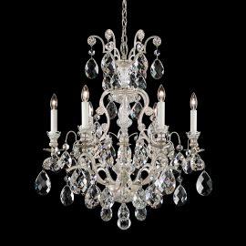 Lustre Cristal Schonbek - Lustra LUX 5 brate, stil baroc, cristale Heritage, Renaissance 3770