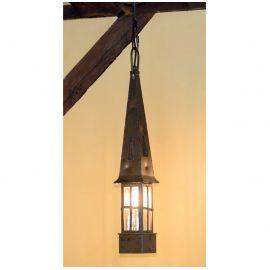 Lustre Exterior Fier Forjat - Pendul iluminat exterior din fier forjat HL 2631