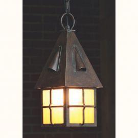 Lustre Exterior Fier Forjat - Pendul iluminat exterior din fier forjat HL 2585