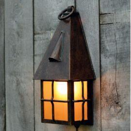 Aplice Exterior Fier Forjat - Aplica 1/2 iluminat exterior din fier forjat WL 3611