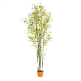 Obiecte decorative - Planta artificiala decorativa pentru exterior BAMBÚ VERDE 183cm