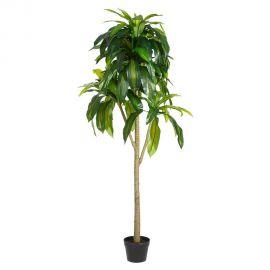 Obiecte decorative - Planta artificiala decorativa pentru exterior DRACENA VERDE 158cm