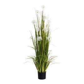 Obiecte decorative - Planta artificiala decorativa pentru exterior Flori albe 175cm