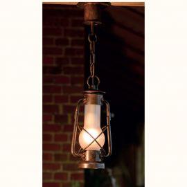 Pendul iluminat exterior din fier forjat, HL 2587-A