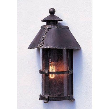 Aplice Exterior Fier Forjat - Aplica 1/2 iluminat exterior din fier forjat, WL 3396