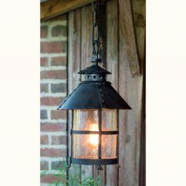 Lustre Exterior Fier Forjat - Pendul iluminat exterior din fier forjat, AL 6105