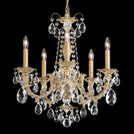 Candelabru 5 brate design LUX cristal Heritage, Alea AL6505
