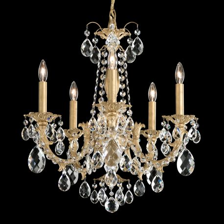 Lustre Cristal Schonbek - Candelabru 5 brate design LUX cristal Heritage, Alea AL6505