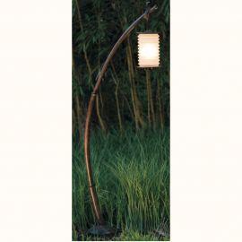 Stalpi Fier Forjat - Stalp iluminat exterior din fier forjat, inaltime 159cm, AL 6841