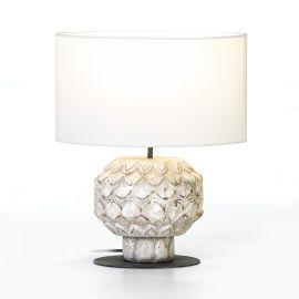 Veioze - Veioza / Lampa de masa design deosebit Catharina alb