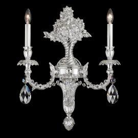 Aplice Cristal Schonbek - Aplica LUX stil floral cu cristale Heritage, Genzano GE4702
