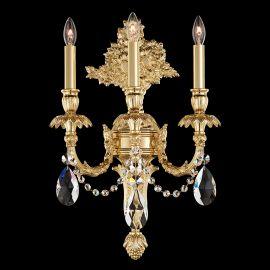 Aplice Cristal Schonbek - Aplica LUX stil floral cu cristale Heritage, Genzano GE4703