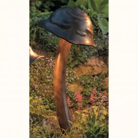 Stalpi Fier Forjat - Lampa iluminat exterior din fier forjat design ciuperca AL 6692, 92cm