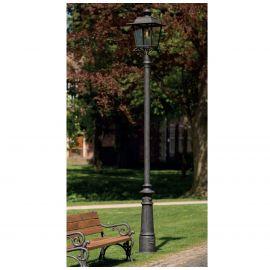 Stalpi Fier Forjat - Stalp iluminat exterior din fier forjat, inaltime 400cm, AL 6875