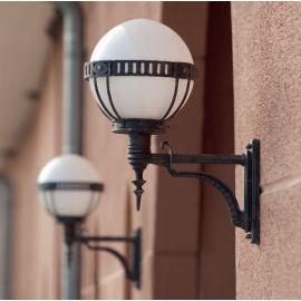 Aplica iluminat exterior din fier forjat, WL 3450