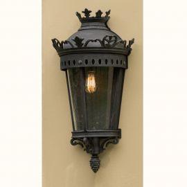 Aplice Exterior Fier Forjat - Aplica 1/2 iluminat exterior din fier forjat, WL 3559