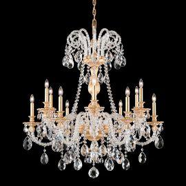 Lustre Cristal Schonbek - Lustra 12 brate design LUX Crystal Optic Isabelle 6312