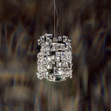 Lustre Cristal Swarovski - Lustra design LUX cristal Swarovski Mosaix SMX105, full crystal