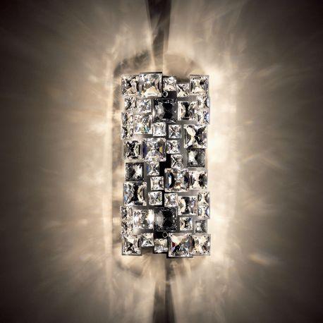 Aplice Cristal Swarovski - Aplica design LUX cristal Swarovski Mosaix SMX605, full crystal