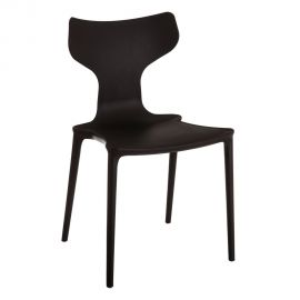 Seturi scaune, HoReCa - Set de 2 scaune din polipropilena Monica, negru