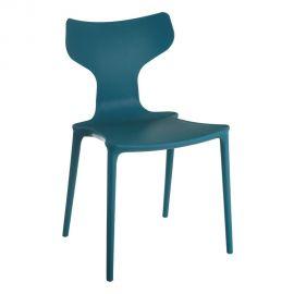 Seturi scaune, HoReCa - Set de 2 scaune din polipropilena Monica, albastru