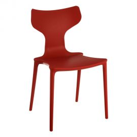 Seturi scaune, HoReCa - Set de 2 scaune din polipropilena Monica, rosu