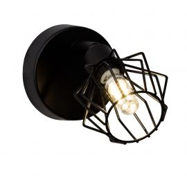 Aplice cu Spot - Aplica LED design retro NORIS I neagra