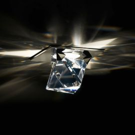 Plafoniere Cristal Swarovski - Spot incastrabil design LUX cristal Swarovski, Octa SOT405