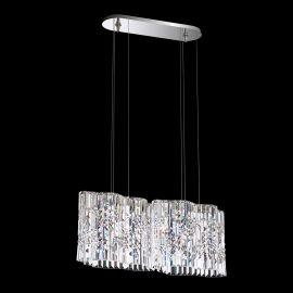 Lustre Cristal Swarovski - Lustra design LUX Spectra Crystal, LED Selene SPU130