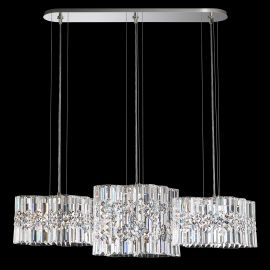 Lustre Cristal Swarovski - Lustra design LUX Spectra Crystal, LED Selene SPU140