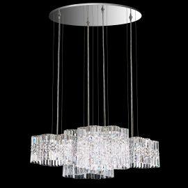 Lustre Cristal Swarovski - Lustra design LUX Spectra Crystal, LED Selene SPU160