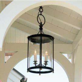 Lustre Exterior Fier Forjat - Lustra iluminat exterior din fier forjat HL 2428-A